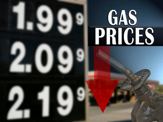 Columbus Gas Prices >> Falling Oil Prices Lead To Decline In Ohio Gas Prices Wfmj Com