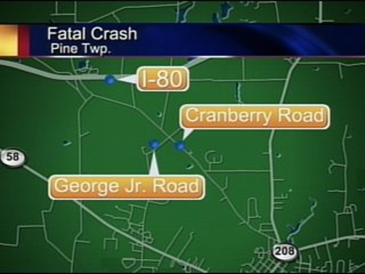 Deadly crash in Pine Township, PA -
