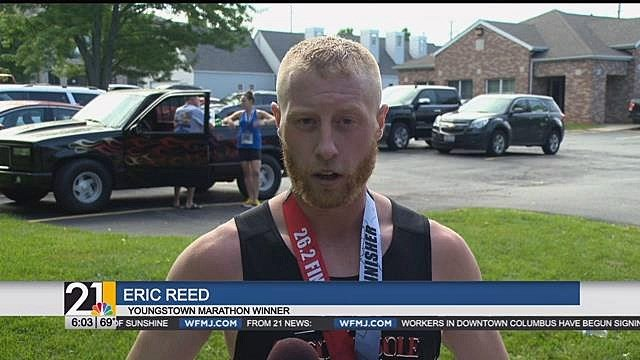 East Liverpool man takes first place in Youngstown Marathon