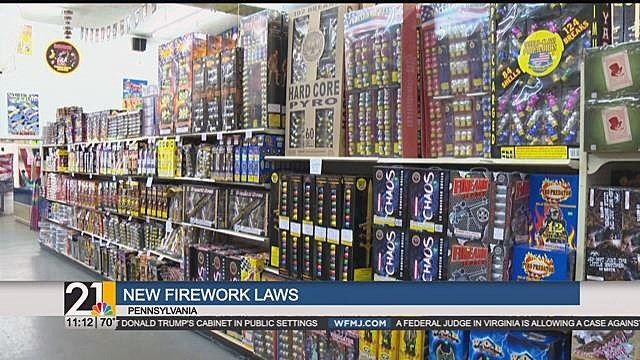 First summer new Pennsylvania fireworks law is in effect