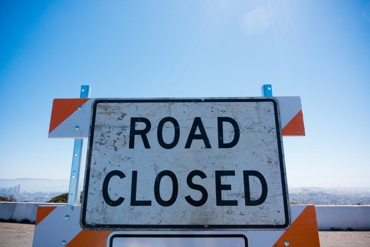 Route 258 closed in Mercer County -