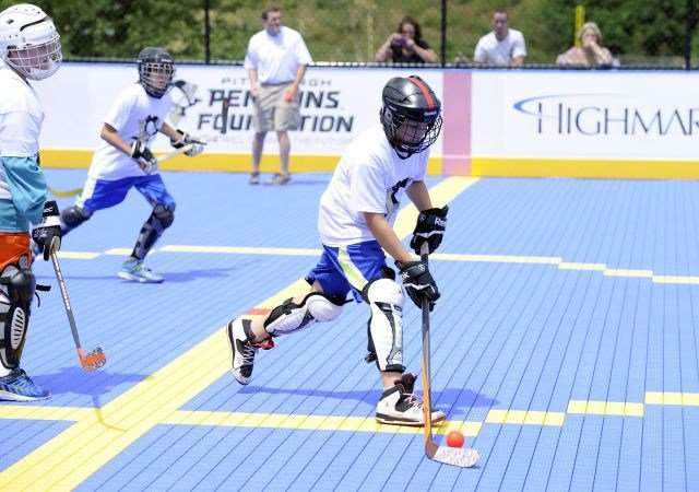 Year-round Dek hockey rink installed at Mill Creek MetroParks -