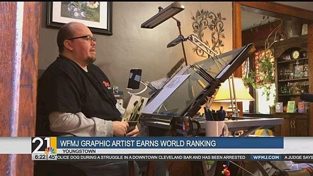 WFMJ Graphic Artist earns world ranking - WFMJ com News