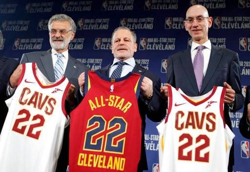 cb91067e90e1 Shining moment  Cavaliers awarded 2022 NBA All-Star Game - WFMJ.com ...