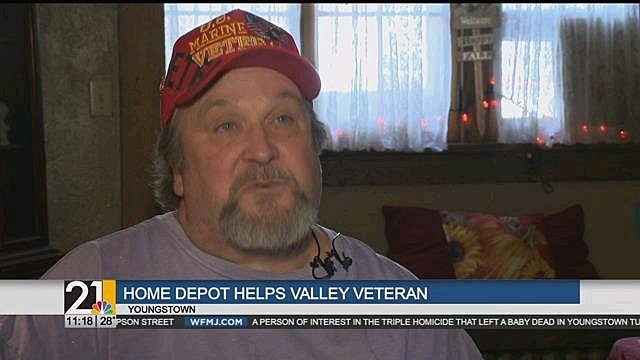 Home Depot And Valley Organization Help Local Veteran Wfmj Com