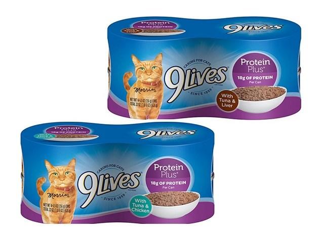 Some 9Lives Cat Food Recalled Over Vitamin Concern