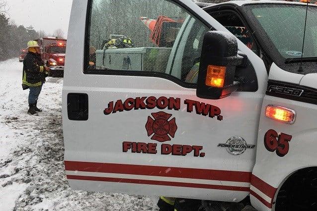HazMat crews called to semi accident on I-76 in North Jackson - WFMJ