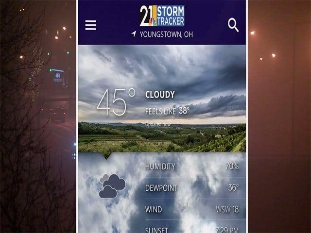 Be Weather Ready: Download Storm Tracker 21 app - WFMJ com News