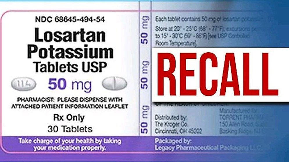 FDA announces additional lot to blood pressure medicine recall -