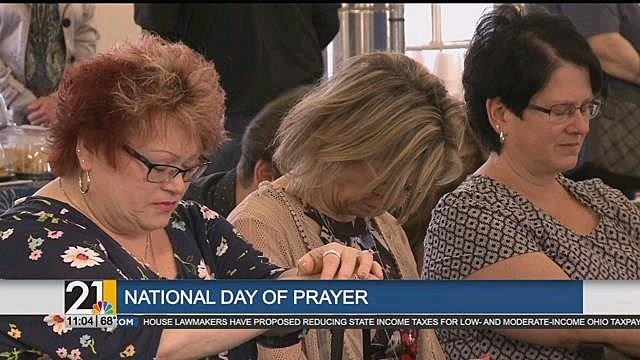 Valley takes part in National Day of Prayer - WFMJ com News