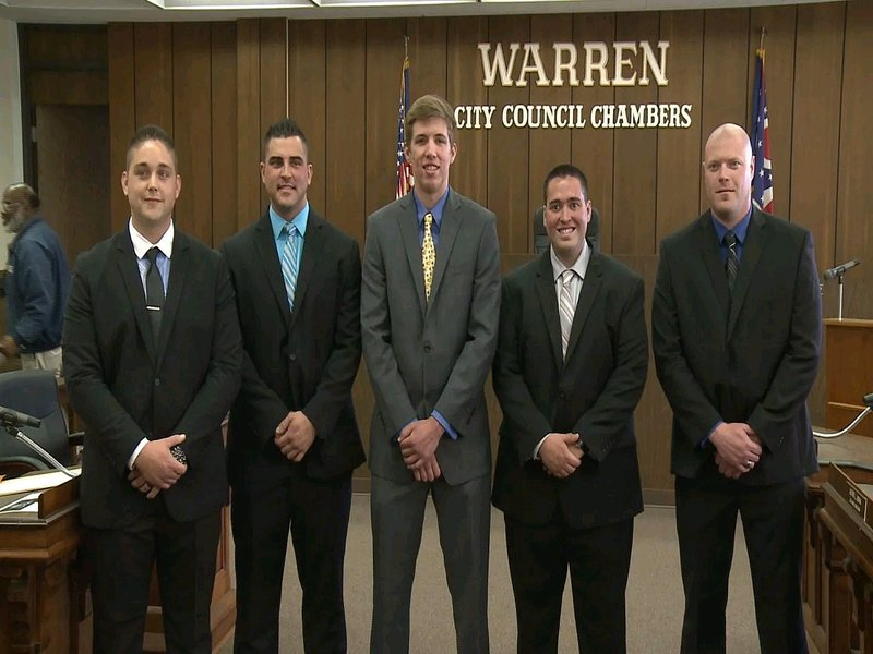 Warren swears in five new firefighters - WFMJ com News