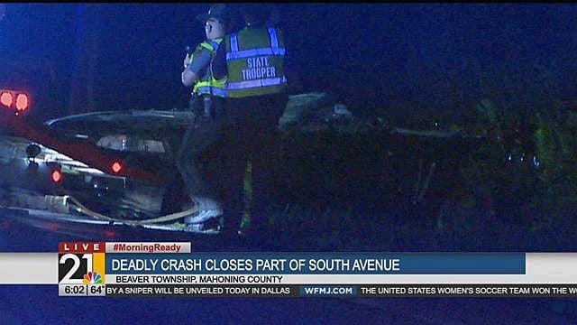 Victim identified in Beaver Township crash - WFMJ com News