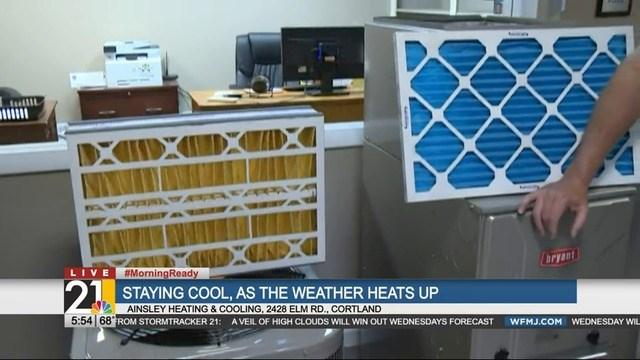 Ainsley Heating Cooling Cortland I Wfmj Com